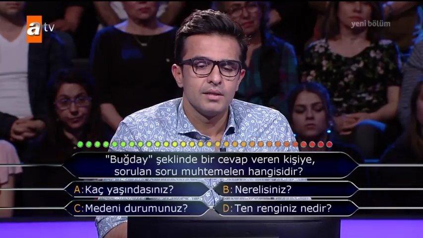 Kim Milyoner Olmak İster? 764. bölümün soru ve cevapları