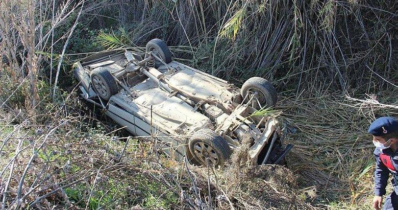 Tarlada çalışan çiftçi, Mergen çayına uçan sürücünün hayatını kurtardı