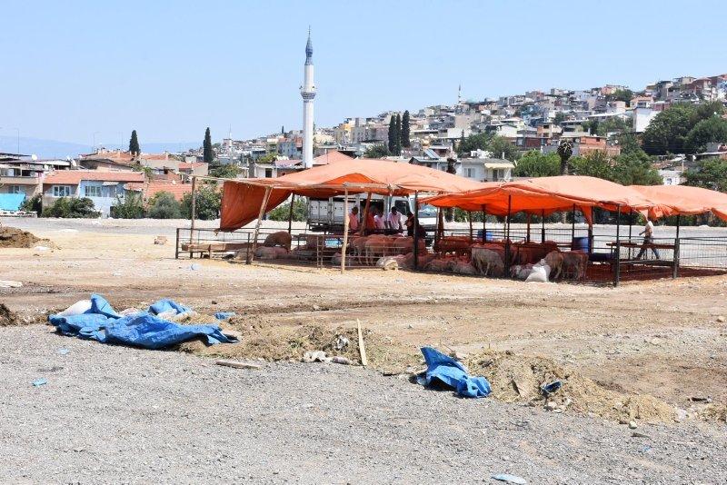 Kurban pazarları ve kesim yerlerinde temizlik başladı