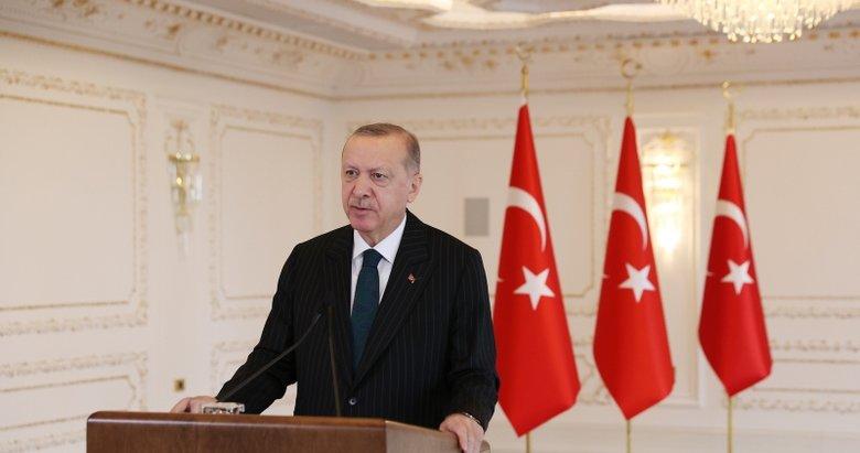 Başkan Erdoğan'dan videolu mesaj