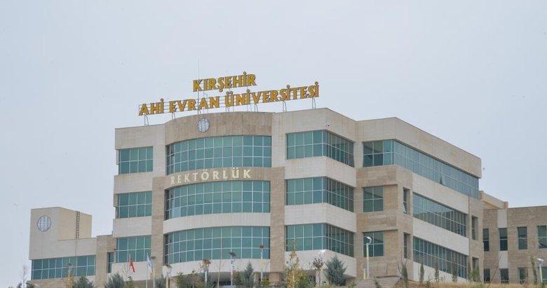 Kırşehir Ahi Evran Üniversitesi 22 öğretim üyesi alıyor