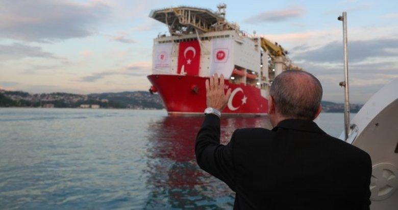 Başkan Erdoğan'dan doğal gaz paylaşımı