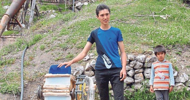 Liseli mucit Ramazan'a TÜBİTAK sahip çıktı