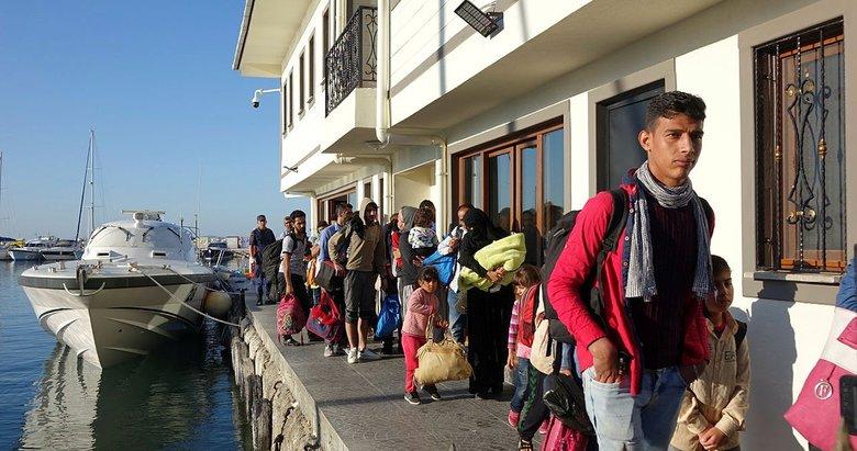 Çanakkale Ayvacık'ta 41 düzensiz göçmen yakalandı