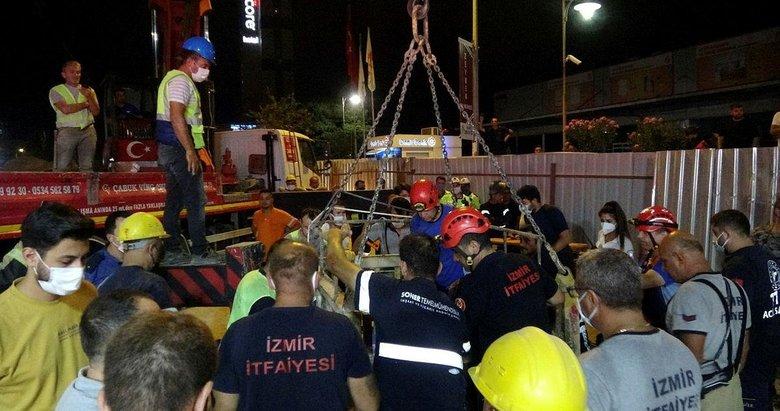 İzmir'de metro inşaatındaki boşluğa düşmüştü! Acı haberi bugün geldi