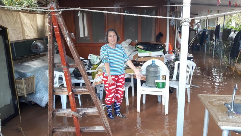 Datça'da aşırı yağmur hayatı felç etti