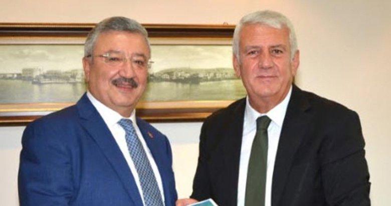 AK Partili Nasır esnafın sorunlarını Meclise taşıyacak