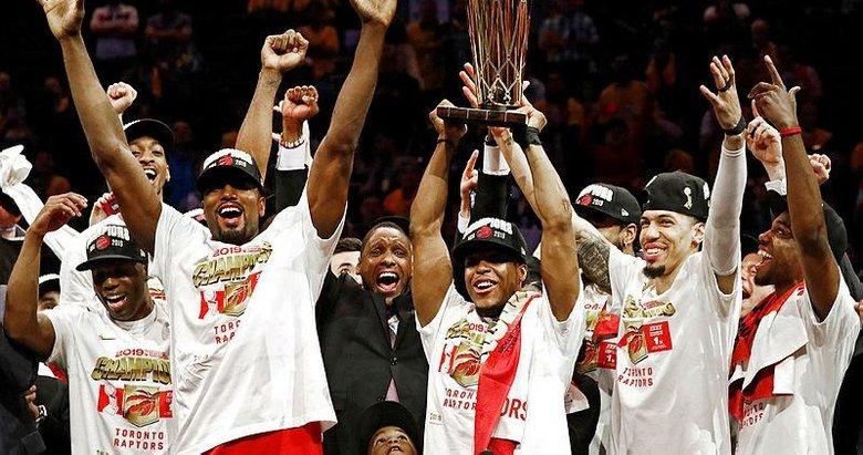 NBA'da Toronto Raptors şampiyon oldu!