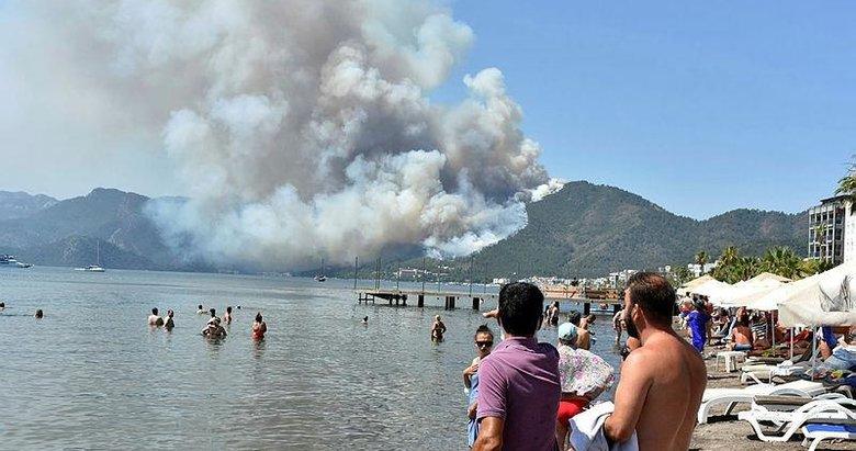 Marmaris'teki orman yangınının çıkış nedeni belli oldu