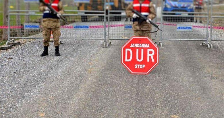 Burhaniye'de bir mahallede daha kısmi karantina başlatıldı