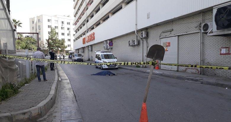 İzmir'de otoparkta intihar