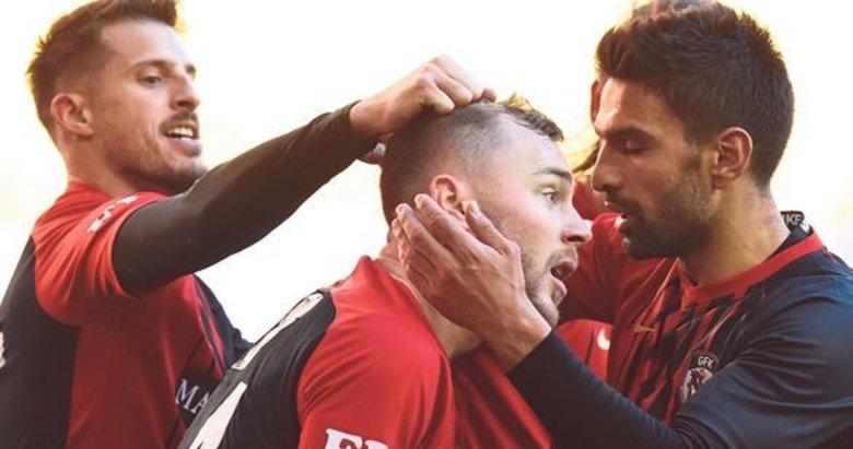 Gaziantep Futbol'un konuğu Antalyaspor