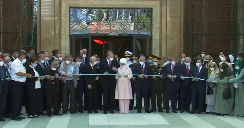 Son dakika: 15 Temmuz Demokrasi Müzesi açıldı