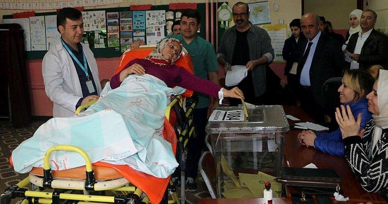 81 ilden 31 Mart yerel seçimlere damgasını vuran kareler
