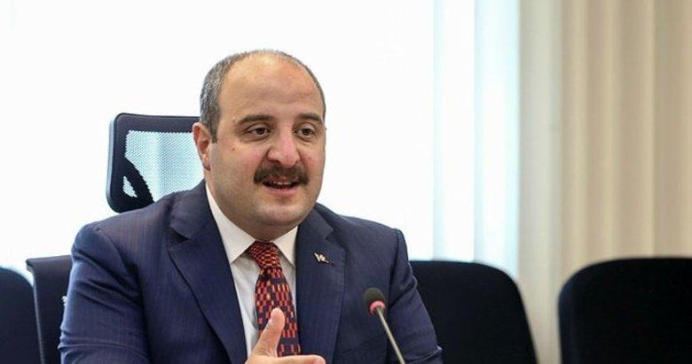 Bakan Varank: Dünyadaki üretiminin yaklaşık yüzde 50'sini karşılayacak