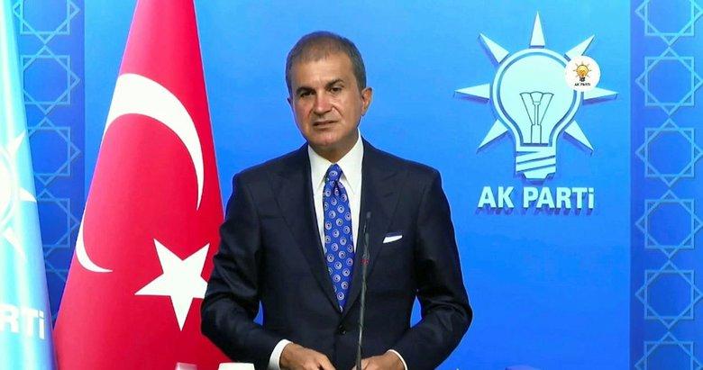 AK Parti Sözcüsü Çelik'ten MYK sonrası önemli açıklamalar