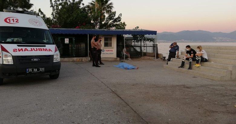 İzmir'de korkunç olay! Denizde erkek cesedi bulundu