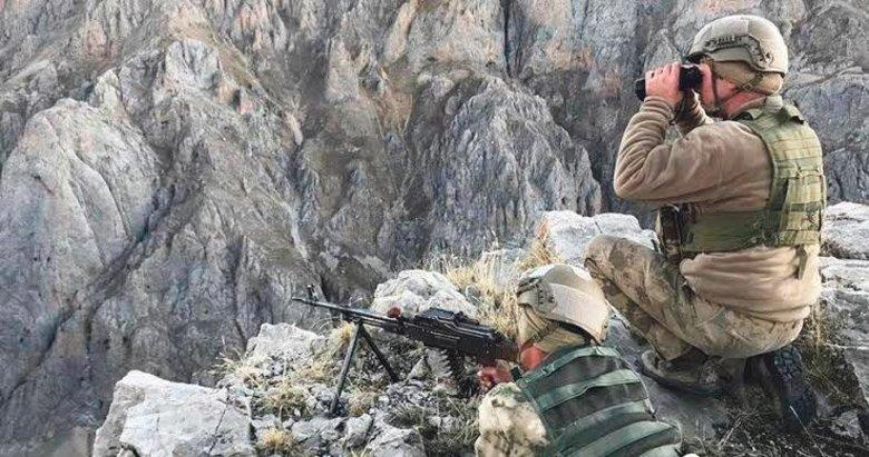 Suriye'nin kuzeyinde 5 günde 39 PKK'lı etkisiz hale getirildi