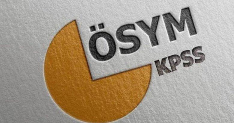 KPSS DHBT sonuçları açıklandı! DHBT sınav sonuçları sorgulama