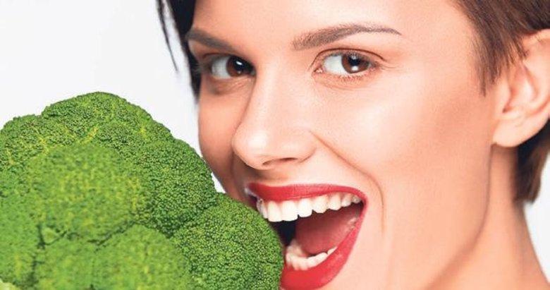 Brokoli, kanserin en büyük düşmanı