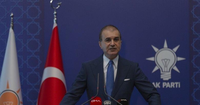Son dakika: AK Parti Sözcüsü Ömer Çelik'ten MYK sonrası flaş açıklamalar