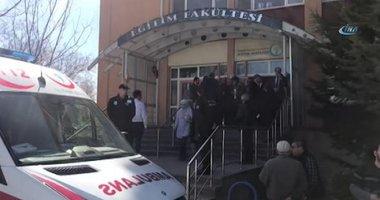 Eskişehir'deki üniversitede katliam