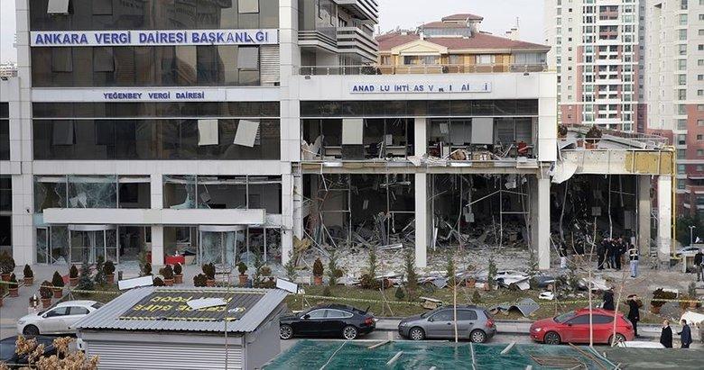 Ankara'da vergi dairesi önündeki bombalı saldırıyla ilgili karar