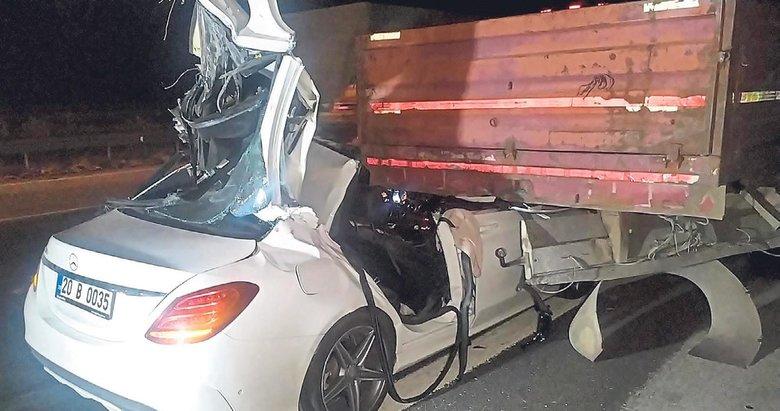 Kardeşler otomobili ölüme sürdü