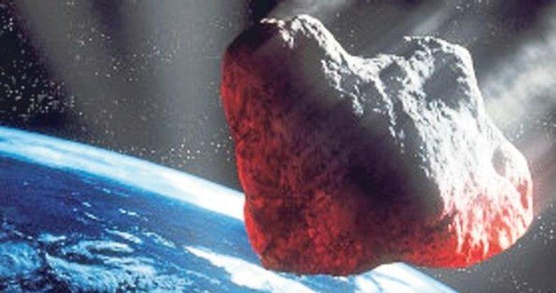 Göktaşı teğet geçti NASA geç fark etti