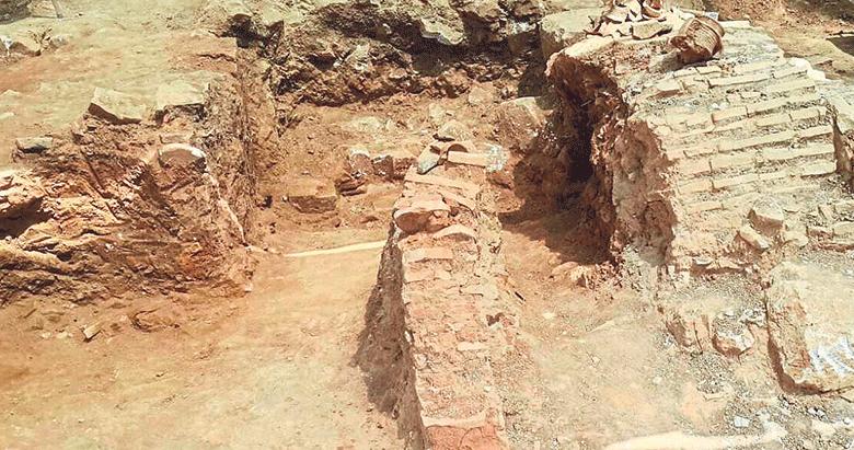 Milas'ta Roma ve Osmanlı yapıları birlikte bulundu