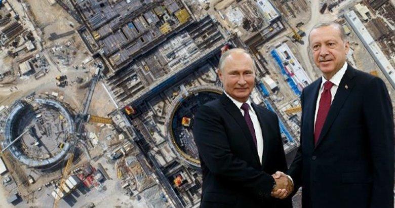 Akkuyu'da büyük gün! Erdoğan ve Putin düğmeye birlikte basacak