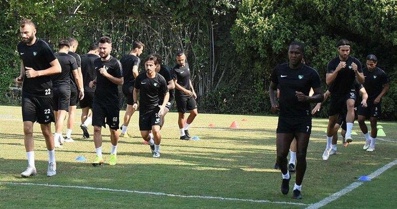 Yukatel Denizlispor, Trabzonspor maçı hazırlıklarını sürdürdü