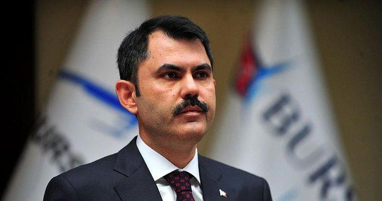 Çevre ve Şehircilik Bakanı Murat Kurumdan çiftçilere müjde