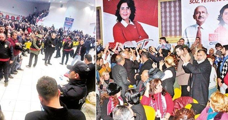 Buca'da CHP kongresinde büyük kavga! Polis ekipleri çağırıldı!