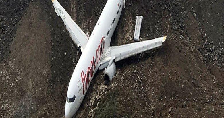 Trabzon'da pistten çıkan uçak kültür ve sanata hizmet edecek