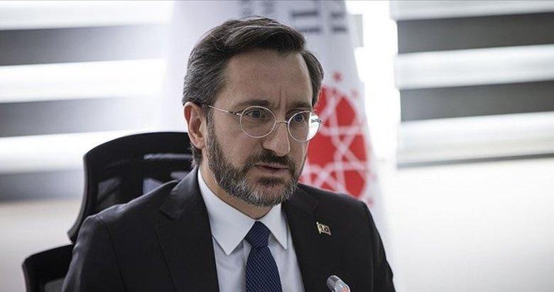 İletişim Başkanı Fahrettin Altun'dan Uluslararası Kızılhaç Komitesi'ne tepki