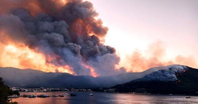 Milas ve Bodrum'daki yangınlar kontrol altına alındı