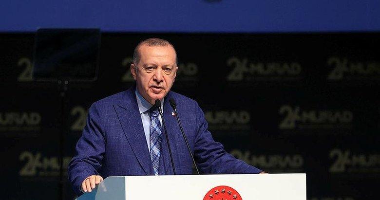 Başkan Erdoğan'dan MÜSİAD'ın 26. Olağan Genel Kurulu'nda önemli mesajlar