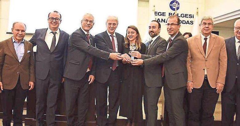 EBSO Çevre Ödülleri sahiplerine verildi
