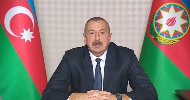 Azerbaycan Cumhurbaşkanı Aliyev: Ermenistan'ın Gence'ye saldırıları savaş suçudur