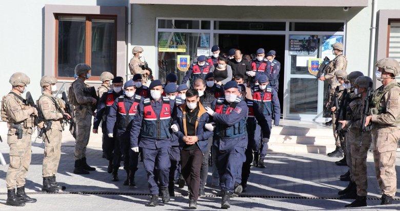 Ege'de zehir tacirlerine geçit yok! 14 kişi adliyeye götürüldü