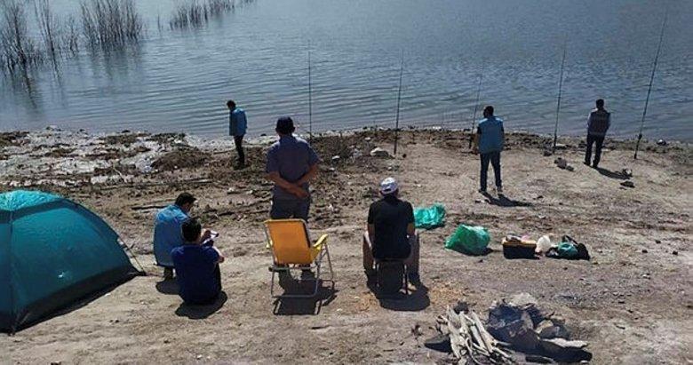 Olta balıkçılarına denetim