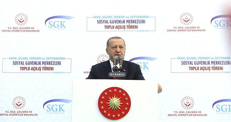 Başkan Recep Tayyip Erdoğan İstanbul'da önemli açıklamalar