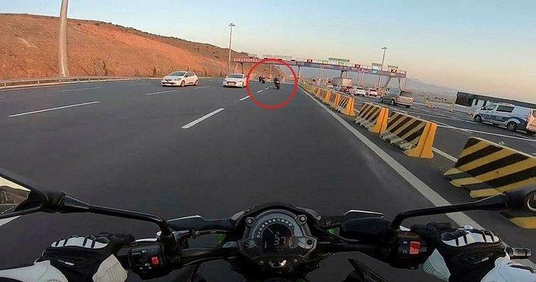 İzmir'den 'pes' dedirten görüntüler! Motosikletli grup ortalığı birbirine kattı