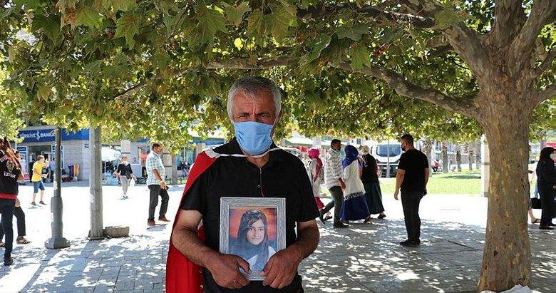 İzmir'de evlat nöbeti tutan baba Ankara'ya yürümek istiyor