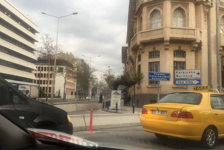 İzmir'de yeni düzenleme trafiği felç etti
