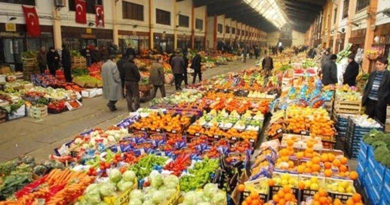 24 sebze ve meyve toptancısına soruşturma