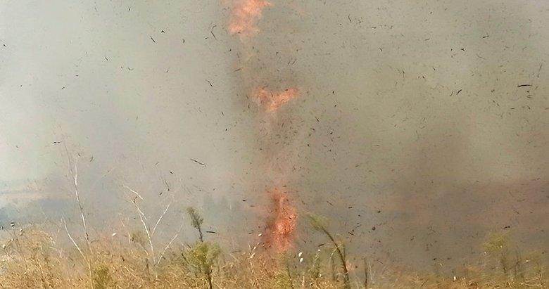 İzmir Aliağa'da çıkan yangın korkuya neden oldu