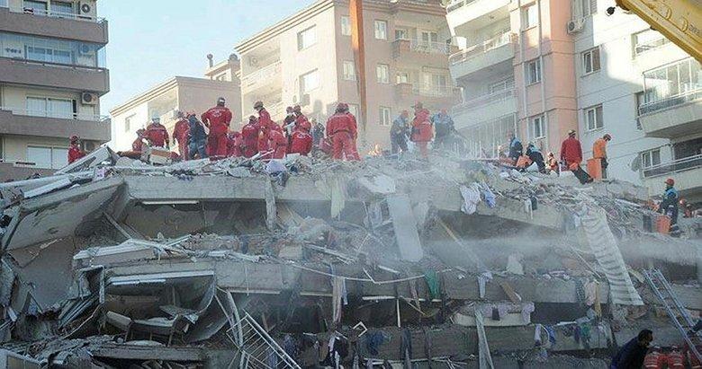 İzmir depreminde yıkılan Rıza Bey Apartmanı'na ilişkin bilirkişi raporu mahkemeye gönderildi