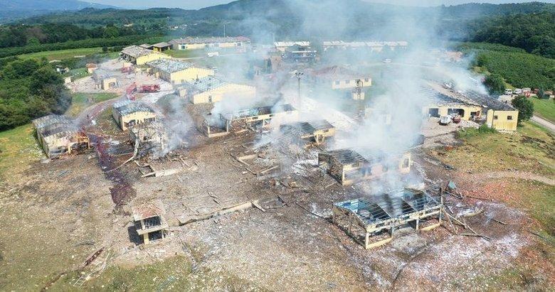 Son dakika: Havai fişek fabrikası patlamasıyla ilgili flaş gelişme